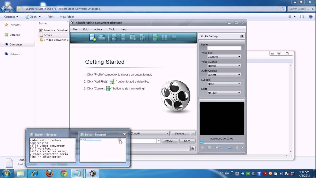 X Video Converter License Key Free [ Xilisoft Ultimate Crack ]