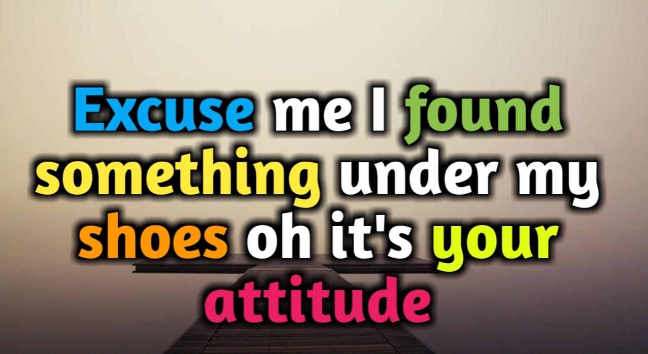 attitude caption in english