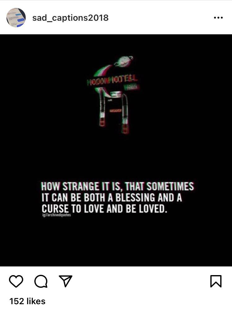 Dark Sadness Captions